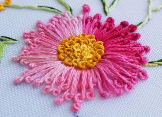 Nakış Çiçek Yapımı - Nakış - birit nakışı gül yapımı brezilya nakışı brezilya nakışı rokoko yapımı brezilya nakışı teknikleri