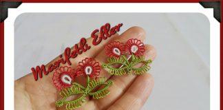 Güzel Mekik Oyaları - Mekik Oyası - mekik oyası çiçek yapımı mekik oyası çok güzel bir modelin yapılışı mekik oyası modelleri yeni yeni mekik modelleri