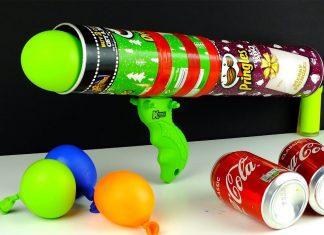 Pringles Kutusundan Etkinlik - Okul Öncesi Etkinlikleri - pringles kutusundan hoparlör pringles kutusundan mumluk pringles kutusundan oyuncak Pringles Kutusundan yapılabilecek şeyler