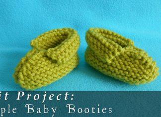 3 - 12 Aylık Bebek Patik Yapılışı - Örgü Bebek Patik Modelleri -