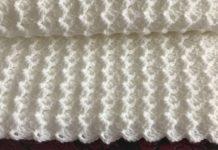 Bebek Battaniyesi Anlatımlı - Örgü Bebek Battaniyesi Modelleri -