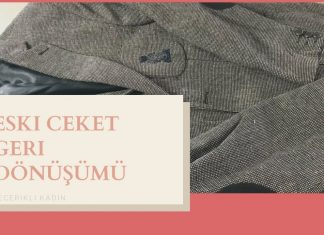 Eski Ceket Nasıl Değerlendirilir? - Dikiş Kendin Yap - deri mont eski deri ceketi getir yenisini al eski hırkaları yenileme soyulmuş deri ceket tamiri