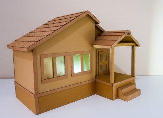 Kartondan Ev Yapımı - Okul Öncesi Etkinlikleri - 7 sınıf teknoloji tasarım kartondan ev yapımı karton kutudan neler yapılır kartondan ev yapımı malzemeleri kartondan gece lambası yapımı