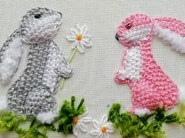 Nakış İşlemeli Bebek Battaniyesi - Nakış -