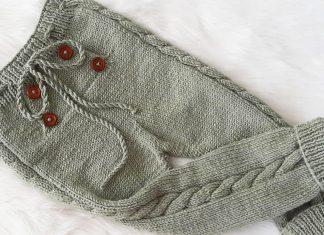 Örgü Bebek Pantolonu Yapımı - Bebek Örgü Modelleri -