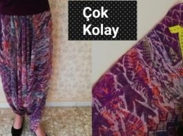 Eşarpla Şalvar Nasıl Dikilir? - Dikiş - otantik şalvar nasıl dikilir şalvar dikilişi şalvar kesimi ve dikimi şalvar nasıl dikilir kesilir şalvar nasıl dikilir video