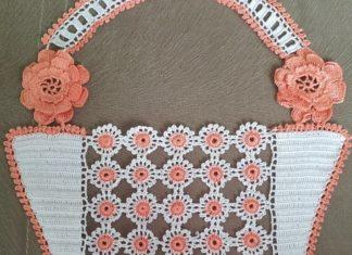Halkalı Sepetli Havlu Kenarı Örnekleri - Dantel Örnekleri - havlu kenarı örnekleri anlatımlı havlu kenarı örnekleri videolu anlatım sepetli havlu kenarı örnekleri sepetli havlu kenarları