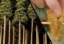 Maket Ağaç Yapımı - Hobi Dünyası Okul Öncesi Etkinlikleri - bakır telden ağaç diorama ağaç yapımı minyatür ağaç yapımı minyatür bahçe süsü minyatür orman zeytin ağacı maketi