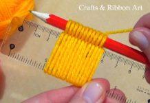 Cetvelle Çiçek Nasıl Yapılır? - Örgü Modelleri - örgü çiçek motifi yapımı örgü çiçek nasıl yapılır anlatımlı örgü çiçek yapımı örnekleri örgüden çiçek yapımı anlatımlı 1