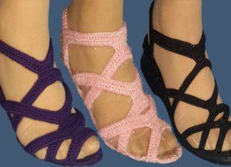 Örgü Sandalet Nasıl Yapılır? - Patik Modelleri - el örgü sandalet modelleri el örgüsü sandalet modelleri örgü bayan sandalet örgü sandalet yapılışı sandalet örgü