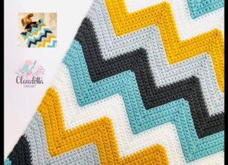 Zikzak Bebek Battaniyesi Yapımı - Örgü Bebek Battaniyesi Modelleri - dalgalı zikzak bebek battaniyesi yapılışı tığ işi zikzak bebek battaniyesi zikzak bebek battaniye modeli zikzak bebek battaniyesi videolu zikzak bebek battaniyesi yapılışı
