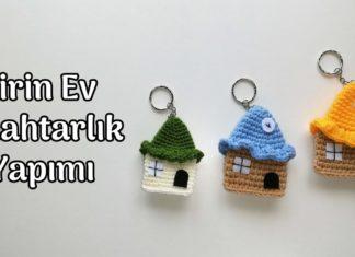Amigurumi Ev Anahtarlık Tarifi - Amigurumi - amigurumi anahtar amigurumi anahtarlık tarifi amigurumi anahtarlık yapımı ev anahtarlık modelleri ev anahtarlık yapımı