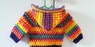 Bebek Örgü Hırka Yapımı - Bebek Hırkaları Yelekleri -