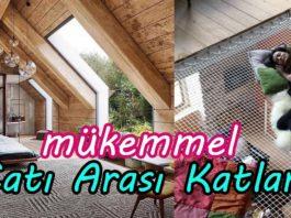 Çatı Katı Dekor - Dekorasyon Fikirleri - ahşap çatı katı çatı katı kullanımı çatı katı mobilya çatı katı proje örnekleri