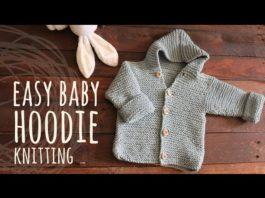 Kapşonlu Erkek Bebek Hırkası Yapılışı - Bebek Hırkaları Yelekleri - bebek hırkası örneği bebek hırkası yapımı dikişsiz kapşonlu bebek hırkası yapılışı kapşonlu bebek hırkası yapımı anlatımlı