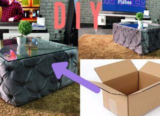 Kartondan Sehpa Yapımı - Dekorasyon Fikirleri Pratik Bilgiler - evde sehpa yapımı karton kutudan sehpa yapımı kartondan sehpa nasıl yapılır kolay orta sehpa yapımı
