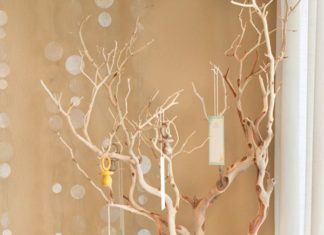 Kuru Dallardan Dilek Ağacı Yapımı - Örgü Modelleri -