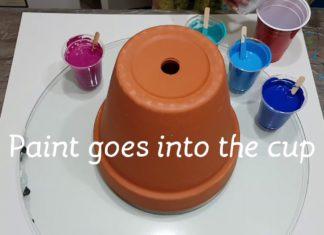 Saksı Nasıl Boyanır? - Dekorasyon Fikirleri Hobi Dünyası - akrilik boya beton saksı hangi boya ile boyanır beton saksı kalıbı plastik saksı boyama seti saksı desen örnekleri saksı süsleme