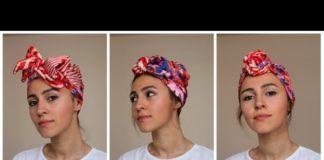 Tülbentten Bandana Yapımı - Pratik Bilgiler - anlatımlı örgü bandana modelleri bandana modelleri 2020 eşarptan bandana yapımı saça şal modelleri sık bandaan şekilleri