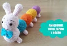 Amigurumi Tırtıl Tarifi - Amigurumi - amigurumi hayvan modelleri amigurumi tirtil yapımı amigurumi tırtıl amigurumi tırtıl nasıl yapılır
