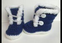 Bebek Bot Yapımı - Örgü Bebek Patik Modelleri -