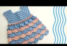 Bebek Örgü Elbise Modelleri ve Yapılışları - Örgü Modelleri -