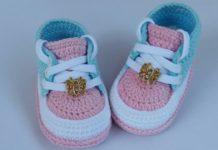 Bebek Patikleri Yapılışı Açıklamalı Örgü Modelleri - Örgü Modelleri -