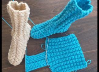 Çorap Örnekleri ve Yapılışı - Patik Modelleri -  1