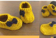 Erkek Bebek Patikleri Nasıl Örülür? - Örgü Bebek Battaniyesi Modelleri -