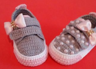 İncili Örgü Bebek Patiği Yapılışı - Örgü Bebek Patik Modelleri - bebek örgü patik modelleri anlatımlı video örgü ayakkabı örgü spor ayakkabı modelleri örgü spor ayakkabı yapılışı örgü spor ayakkabı yapımı