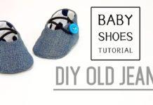 Kumaş Bebek Ayakkabısı Dikimi - Dikiş -  1