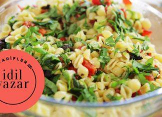 Makarna Salatası Nasıl Yapılır? - Yemek Tarifleri - basit makarna nasıl yapılır garnitürsüz makarna salatası makarna nasıl yapılır makarna nasıl yapılır videosu makarna salatası basit