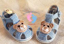 Örgü Bebek Ayakkabısı Yapılışı - Örgü Modelleri -