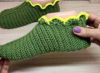 Şiş Örgü Patik Nasıl Yapılır? - Patik Modelleri - knitting örgü patik modelleri örgü patik yapımı şiş örgü patik şiş örgü patik modeli şiş örgü patik yapımı
