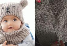 Bebek Örgü Şapkalı Boyunluk Yapılışı - Bebek Örgü Modelleri - bebek beresi örgü modelleri Bebek örgü boyunluk modelleri ve yapılışı erkek bere modelleri anlatımlı yapılışı şiş ile bebek beresi yapımı şişle erkek bere modelleri ve yapılışı