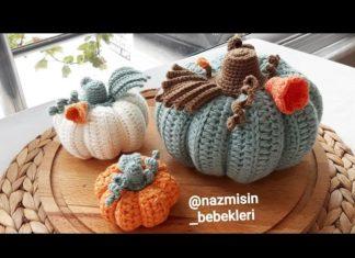 Amigurumi Balkabağı Yapımı - Amigurumi - amigurumi balkabağı tarifi amigurumi balkabağı yapılışı amigurumi meyve sebze yapılışı balkabağı amigurumi dekoratif balkabağı nasıl yapılır