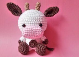 Amigurumi İnek Nasıl Yapılır? - Amigurumi - amigurumi cow amigurumi free pattern amigurumi inek yapımı tarifi örgü oyuncak yapımı sütaş ineği amigurumi tarif