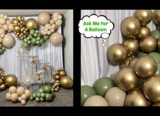 Balon Perdeye Nasıl Asılır? - Dekorasyon Fikirleri Kendin Yap - balon zinciri perdeye nasıl asılır balonlar perdeye nasıl asılır bantla tavana balon yapıştırma doğum günü süsleri harf balon perdeye nasıl asılır