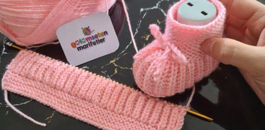 Bebek Patik Modelleri ve Yapılışı Video Şişle - Örgü Bebek Patik Modelleri -
