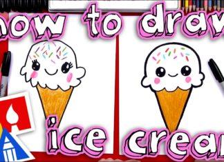 Külah Dondurma Resmi Çizimi - Okul Öncesi Etkinlikleri - dondurma çizimi kolay dondurma nasıl çizilir en güzel dondurma çizimleri külah dondurma resmi sevimli dondurma çizimi