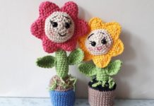 Amigurumi Çiçek Yapımı - Amigurumi - 3d örgü çiçek yapımı amigurumi çiçek tarifi amigurumi küçük çiçek yapımı amigurumi papatya yapımı örgüden çiçek yapımı tığdan çiçek yapımı