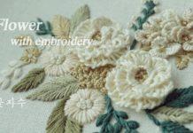 Çiçek Nakış Modelleri - Nakış - çiçek işleme modelleri çiçek nakış örnekleri kasnakta çiçek yapımı Kolay nakış desenleri nakış nasıl yapılır