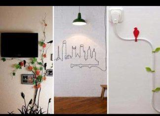Dekoratif Kablo Gizleme - Dekorasyon Fikirleri - cablefix kablo sabitleme gizleme dekoratif kablo dekoratif kablo kanalı dekoratif kablo saklama duvarda kablo gizleme tv kablo gizleme