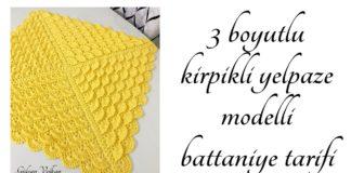 Kirpik Modeli Bebek Battaniyesi Yapımı - Örgü Bebek Battaniyesi Modelleri Örgü Modelleri - bebek battaniyesi modelleri kirpik modeli bebek battaniye kirpik yelek modeli örgü modelleri türkan şoray kirpiği ( örgü modeli şiş ile yapilişi)