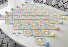 Oval Damla Motifli Bebek Battaniye modeli - Örgü Bebek Battaniyesi Modelleri Örgü Modelleri - bebek battaniyesi modelleri 2021 bebek battaniyesi örme motifli bebek battaniyesi tığ işi motifli bebek battaniyesi anlatımlı