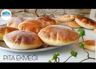 Pita Ekmeği Yapımı - Yemek Tarifleri - evde pita ekmek tarifi pita börek pita tarifi tavada pita ekmeği