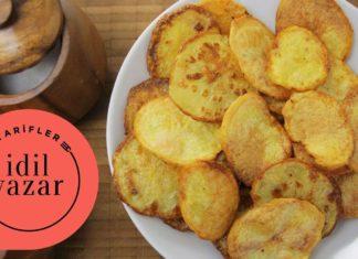 Evde Fırında Patates Cipsi Nasıl Yapılır - Yemek Tarifleri - evde baharatlı cips yapımı evde cips nasıl yapılır patates cipsi fırında nasıl yapılır yağsız patates cipsi