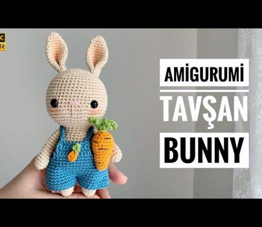 Amigurumi Tavşan Anlatımlı - Amigurumi - amigurumi oyuncak yapımı amigurumi tarifleri amigurumi tavşan bebek tarifi amigurumi tavşan modelleri kolay amigurumi tarifi