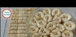 Burma Baklava Tarifi El Açması - Yemek Tarifleri - baklava tarifi ev yapımı borcamda burma baklava tarifi burma baklava nasıl açılır el açması burma baklava tarifi