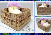 Kartondan Sepet Yapımı - Kendin Yap - evde kartondan sepet yapımı kartondan dekoratif sepet yapımı kartondan hasır sepet yapımı kartondan sepet modelleri kartondan sepet yapımı video